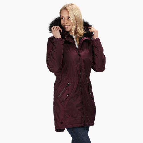 Corvelle Waterproof Insulated Jacket Black
